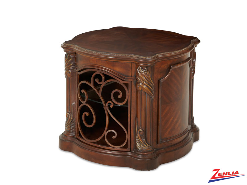 Ess Mano Barrel End Table