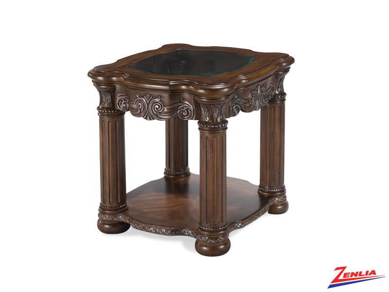 Mont Carl Noir End Table