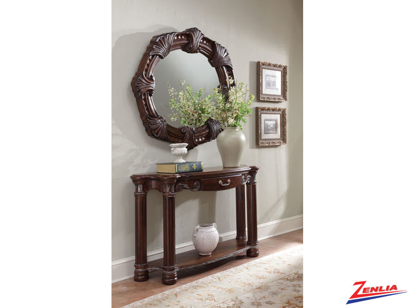 Mont Carl Noir Console Table