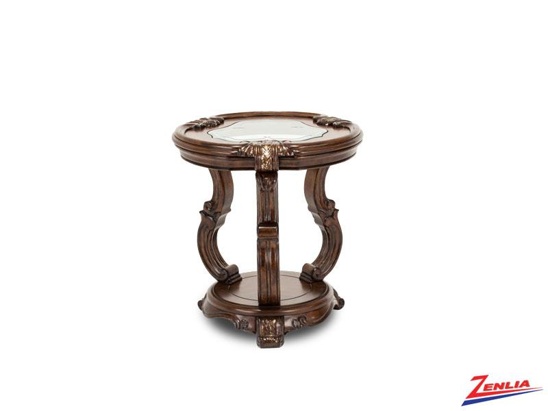 Platine Espreso Chair Side Table