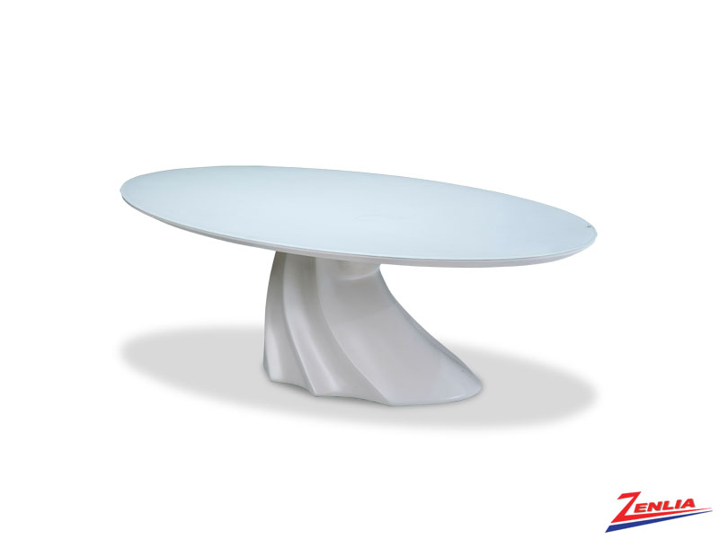 Coso Oval Cocktail Table