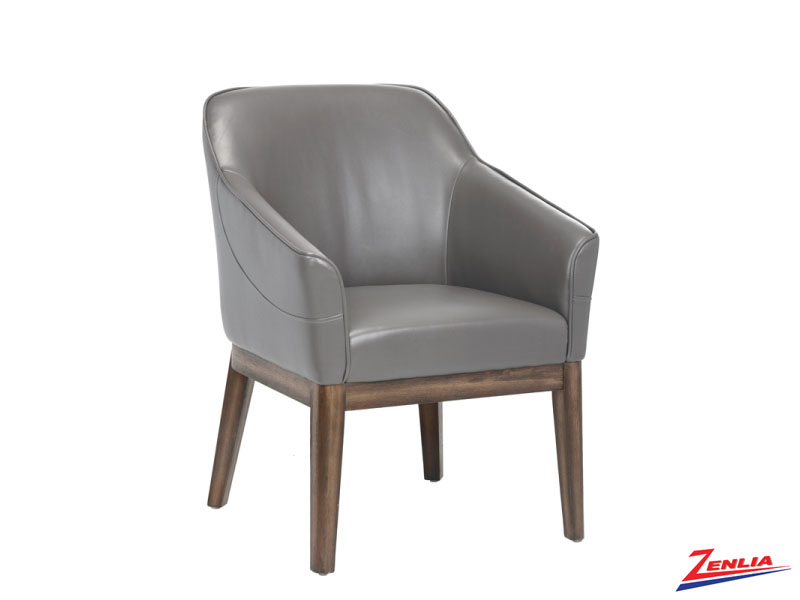 Dori Dove Grey Armchair