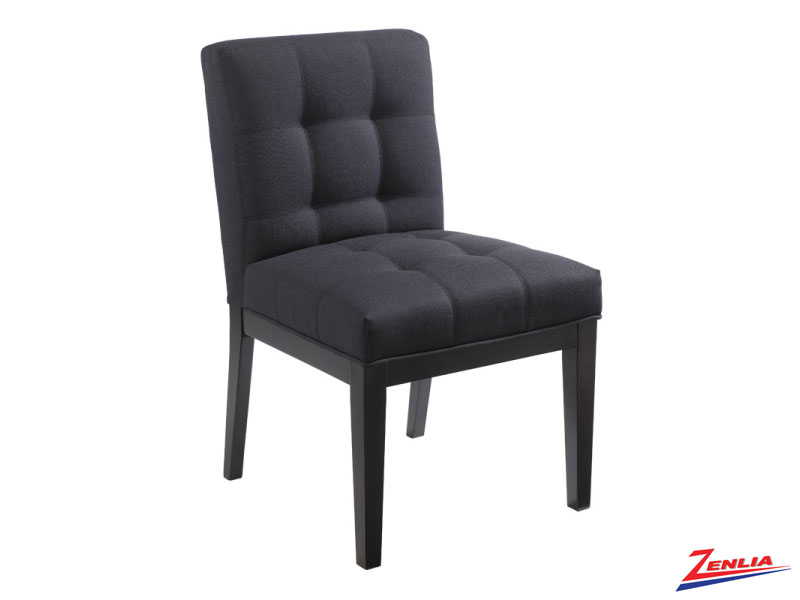 Felic Fabric Charcoal Dining Chair