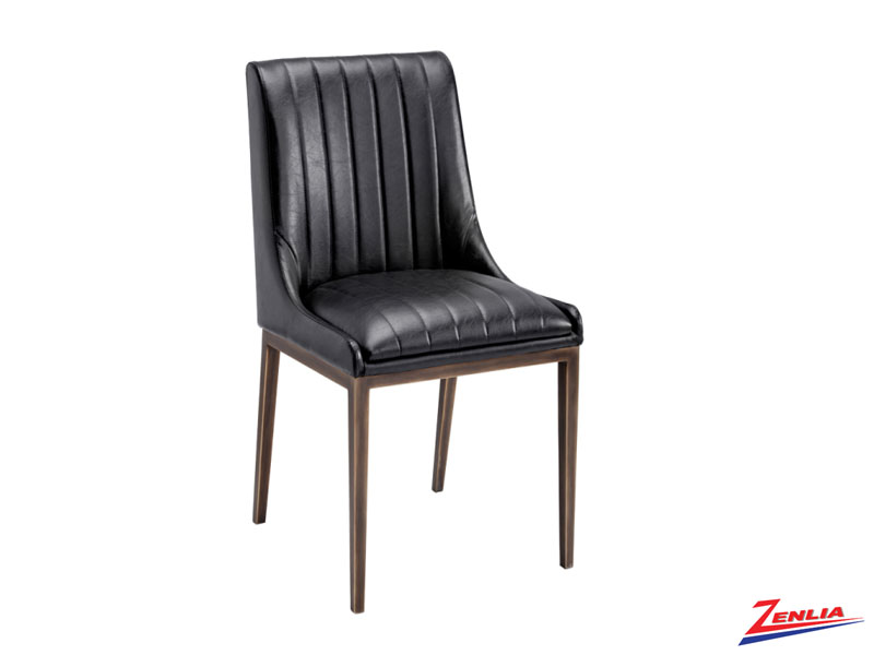 Hald Black Dining Chair