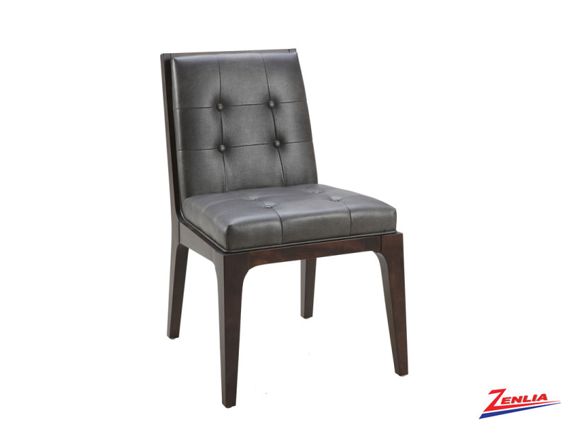 Harri Gun Metal Grey Dining Chair