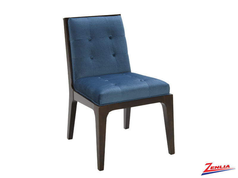 Harri Ink Blue Dining Chair