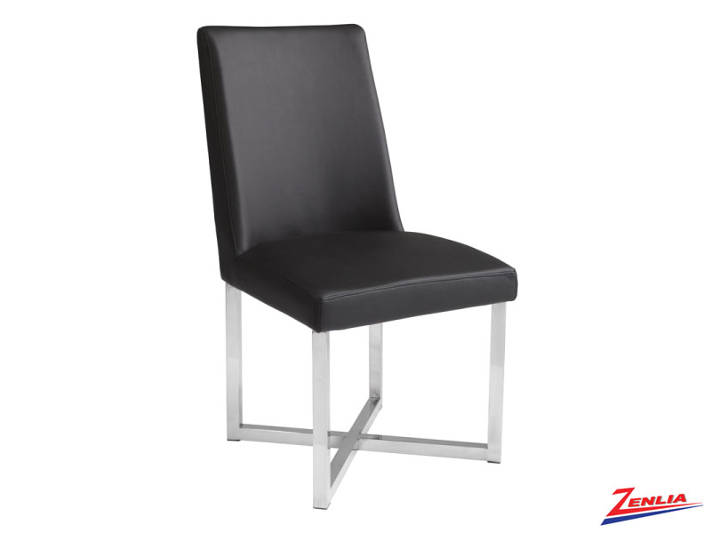 Howa Black Dining Chair