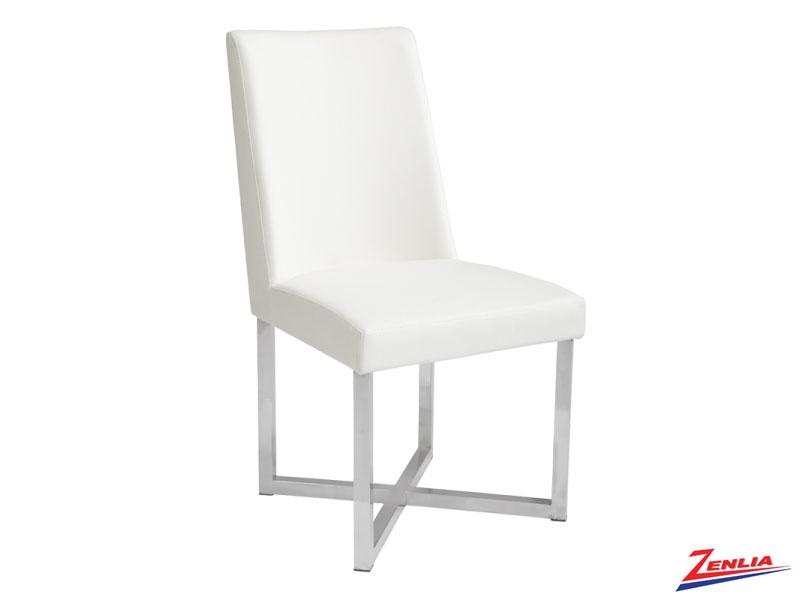 Howa White Dining Chair