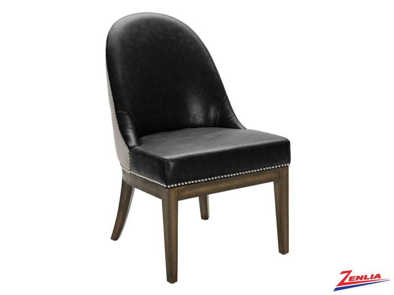 Lian Black Fog Dining Chair