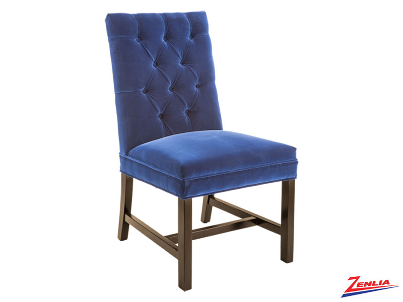 Orwa Navy Dining Chair