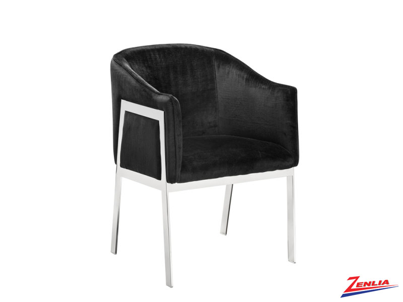 Rial Black Dining Chair