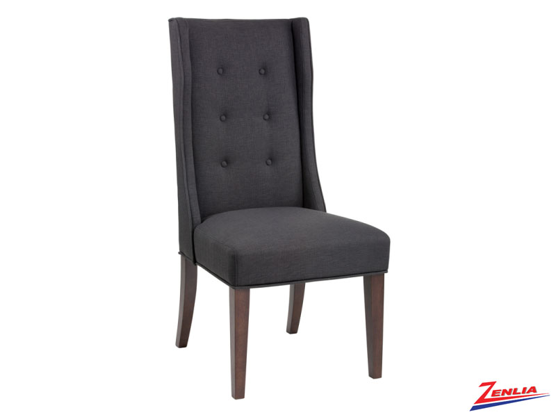 Sabi Charcoal Dining Chair