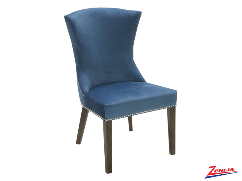 Sabri Ink Blue Dining Chair