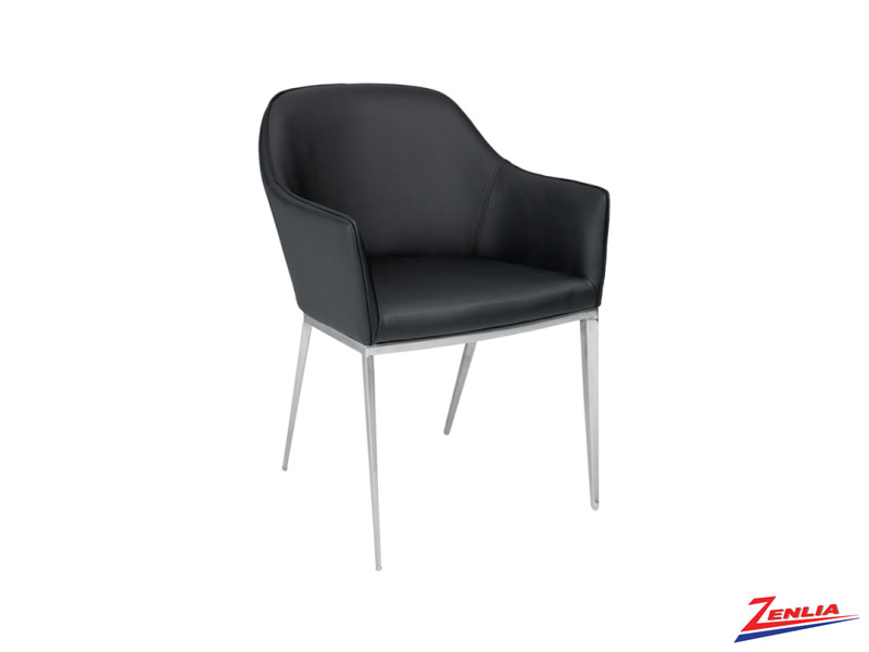 Stani Black Armchair