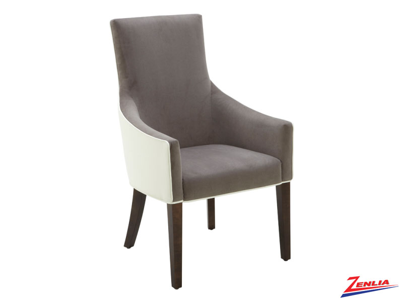 Vince Grey Armchair