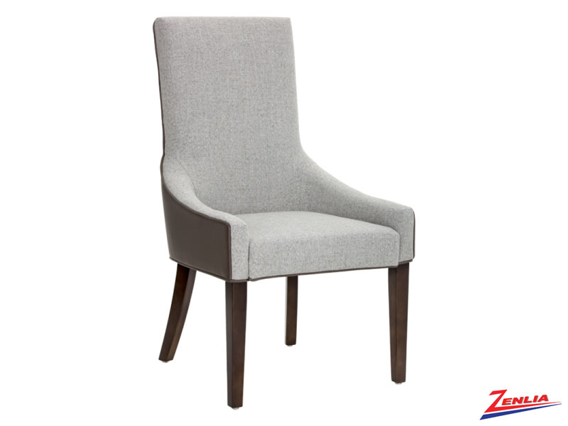 Vince Grey And Marble Dining Chair
