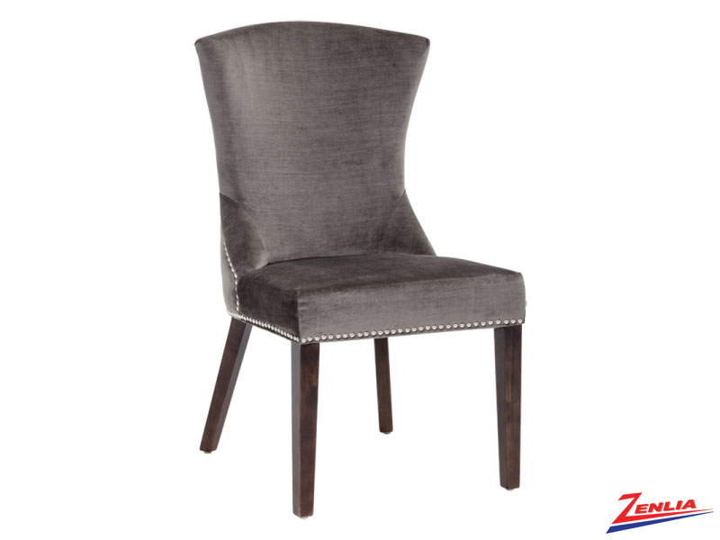 Sabri Fossil Grey Dining Chair