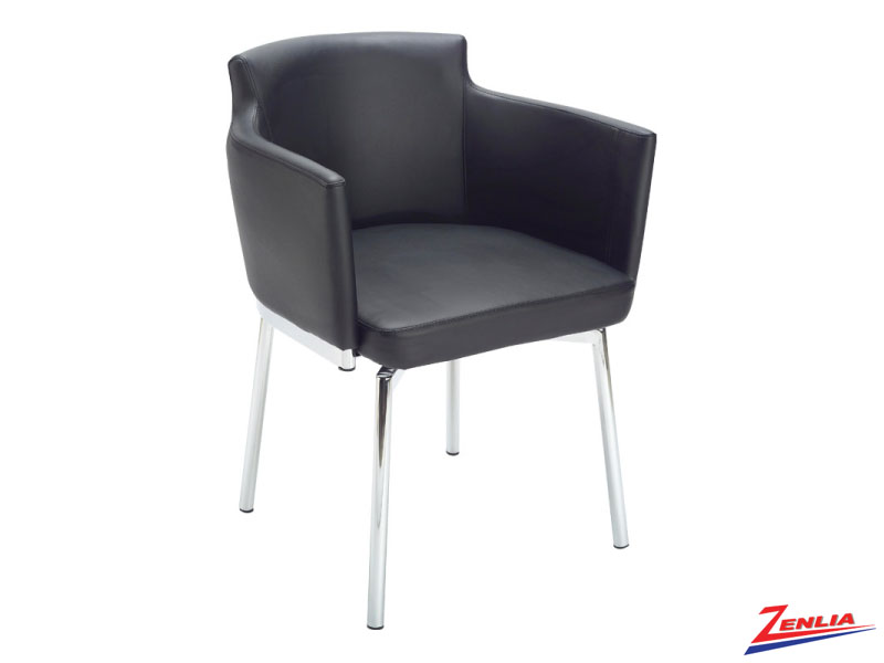 Garci Black Swivel Chair