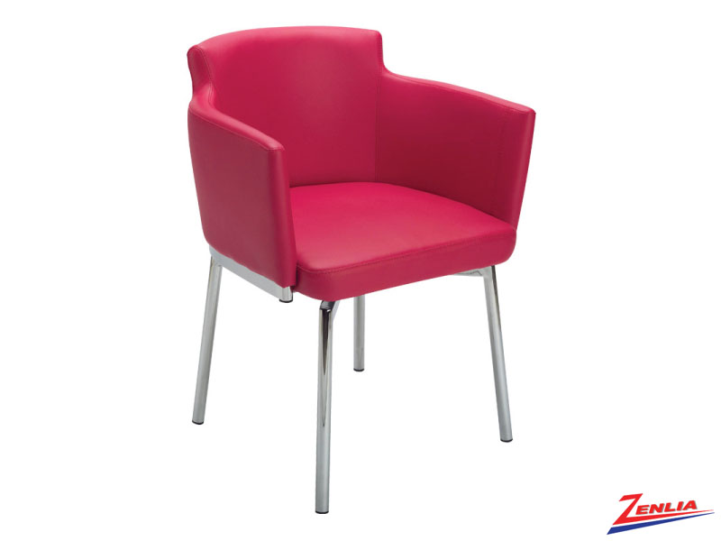 Garci Red Swivel Chair
