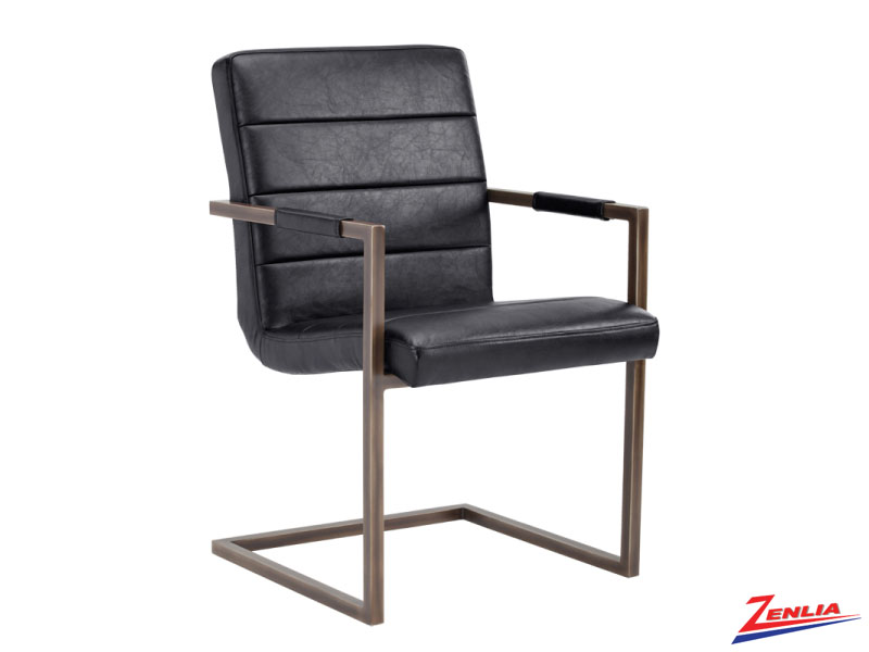 Jaf Black Armchair