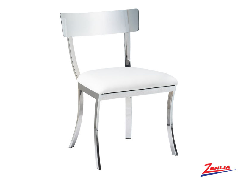 Maide White Dining Chair