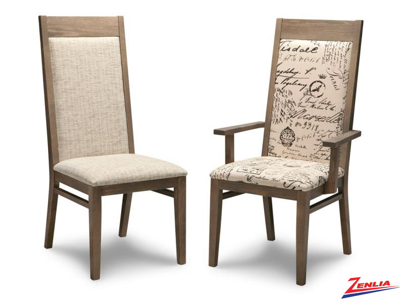 Steel Padded Dining Chair