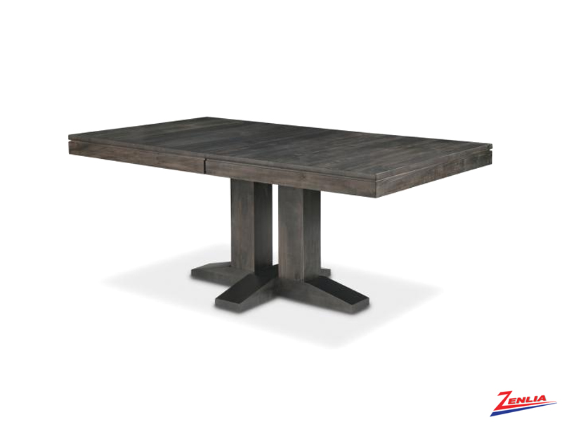 Steel Pedestal Table