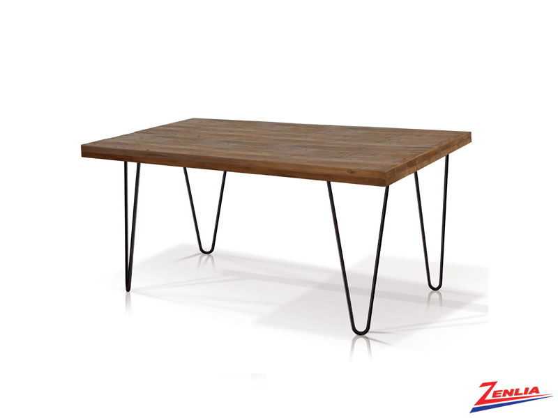 Nath Hairpin Rectangular Dining Table