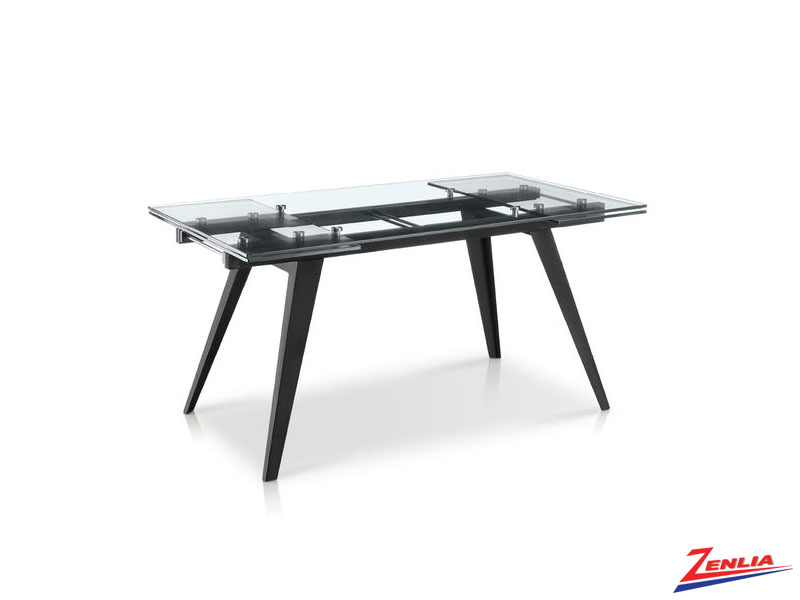 Shar Matte Black Dining Table