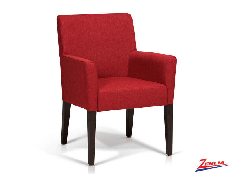 Todd Red Club Chair