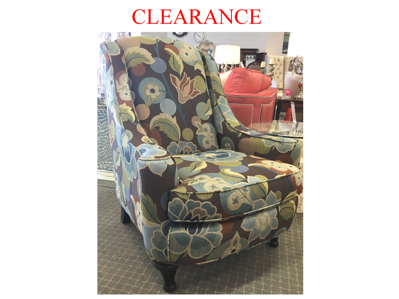 Clearance Canadian Made  Accent Chair