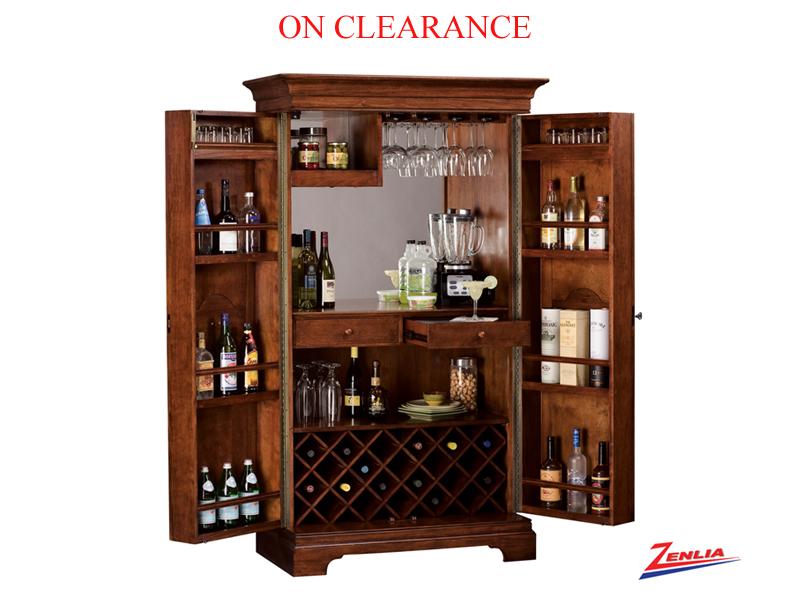 Clearance Barossa Wine Amp Bar Cabinet Wine Amp Bar Cabinets