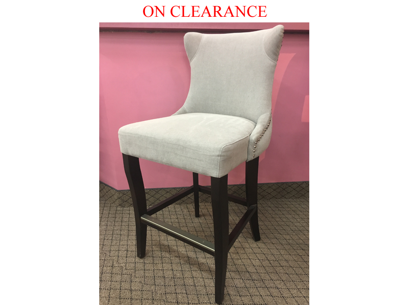 Clearance Counter Stool Modern Non Swivel Stools