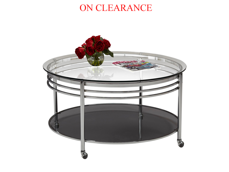Floor Model Coffee Table & 1 End Table On Sale