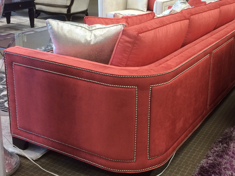 Floor Model Canadian Made Sofa Plus And Chair Half