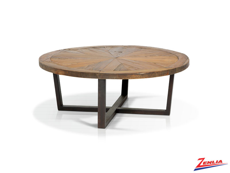 Mari Chevron Inlay Coffee Table
