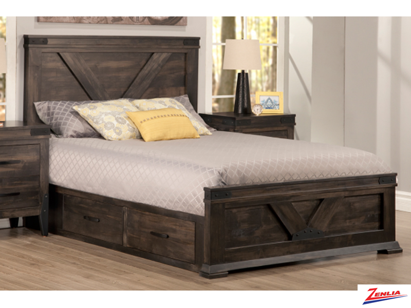 Chatt 4 Drawer Storage Bed With Low Footboard