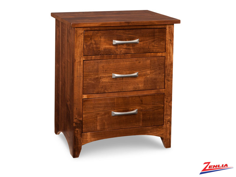 Glengar 3 Drawer Night Stand