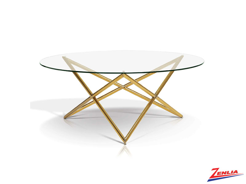Fay Gold Coffee Table