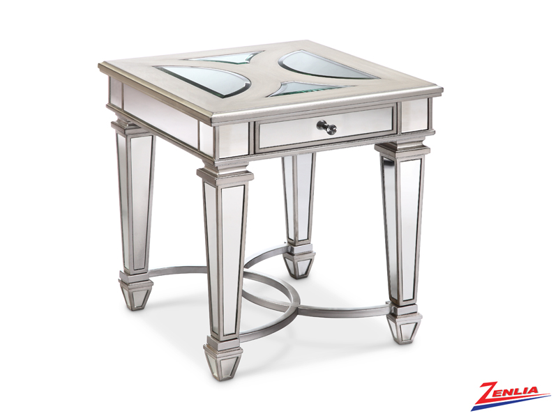 Nove Rectangular End Table