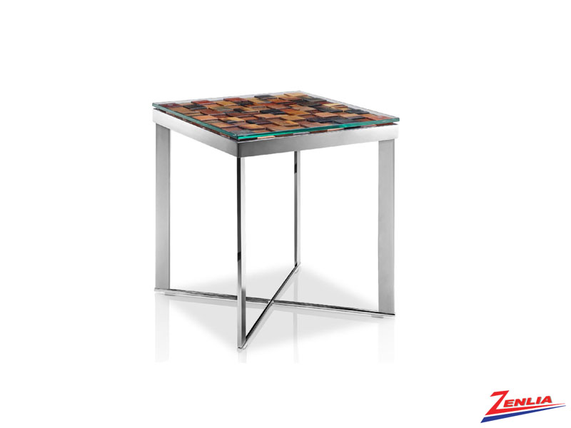 Qiq Mosaic End Table