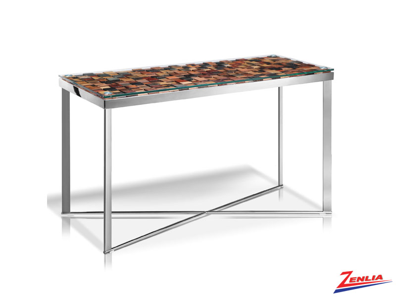 Qiq Mosaic Console Table