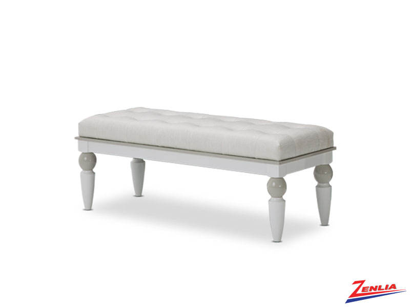 Sky White Cloud Bench