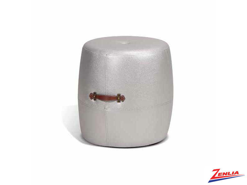 Alt Silver Drum Stool