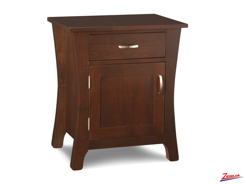 York 1 Door And 1 Drawer Night Stand