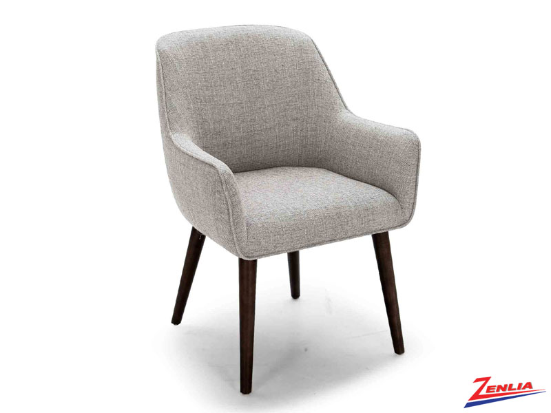 Raz Espresso Leg Tub Chair Fabric Accent Chairs Accent