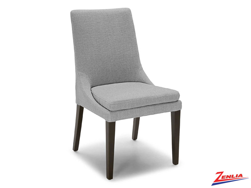 Raz Espresso Leg Side Chair