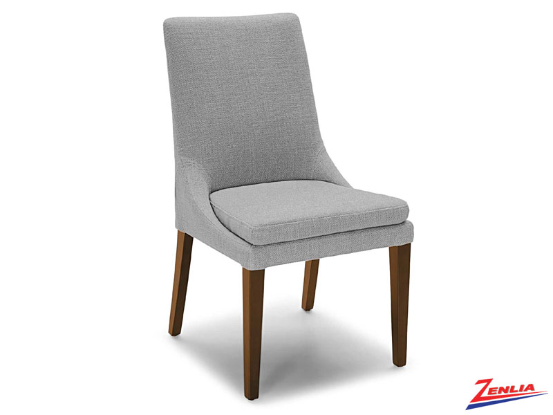 Raz Walnut Leg Side Chair