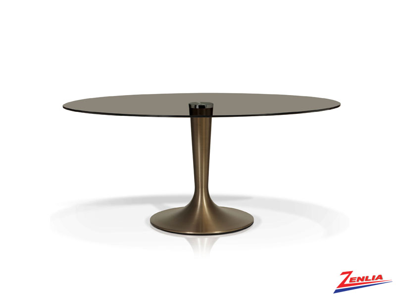 Cosmo Smoked Dining Table