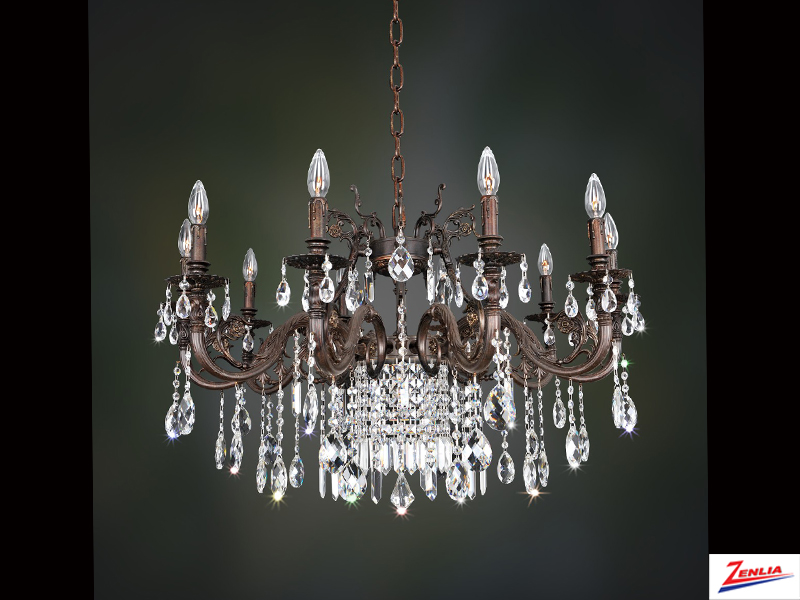 Avel 10 Light Chandelier